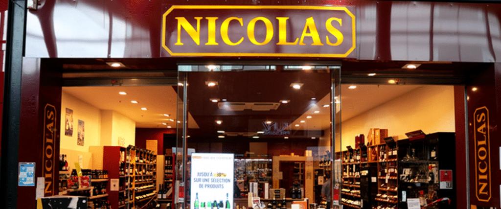 boutique de vin Nicolas, vins, bière et spiritueux